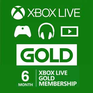 Buy 6 Months Gold Xbox Live Code Compare Prices