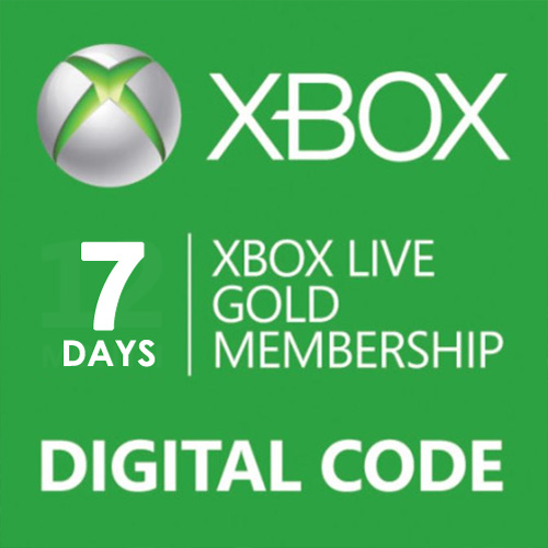 Buy 7 Days Gold Subscription Card Xbox Live Code Compare Prices