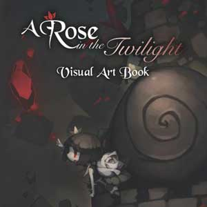 A Rose In The Twilight Digital Art Book