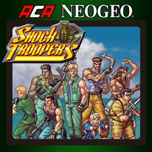 ACA NEOGEO SHOCK TROOPERS