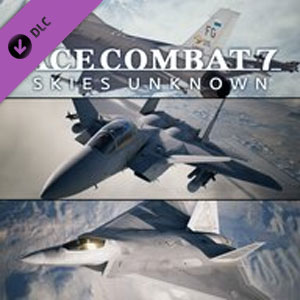 ACE COMBAT 7 SKIES UNKNOWN 25th Anniversary DLC Experimental Aircraft Series Set