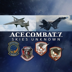 ACE COMBAT 7 SKIES UNKNOWN ADF-01 FALKEN Set