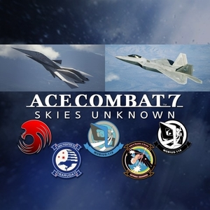 ACE COMBAT 7 SKIES UNKNOWN ADF-11F Raven Set