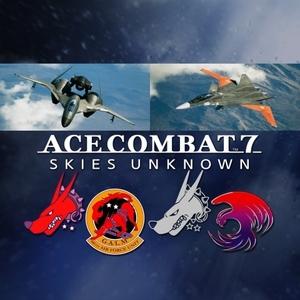 ACE COMBAT 7 SKIES UNKNOWN ADFX-01 Morgan Set