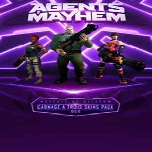 Buy Agents of Mayhem Carnage a Trois Skins Pack PS4 Compare Prices