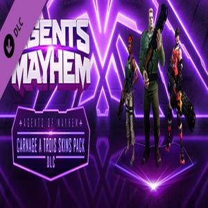 Agents of Mayhem Carnage a Trois Skins Pack