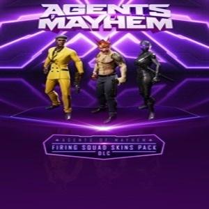Agents of Mayhem Firing Squad Skins Pack