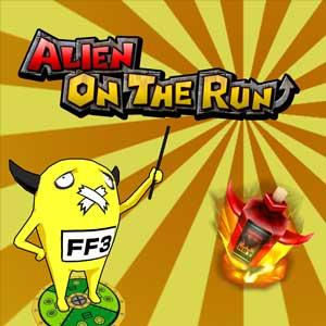 Alien on the run
