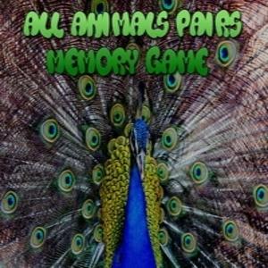 All Animals Pairs Memory Game