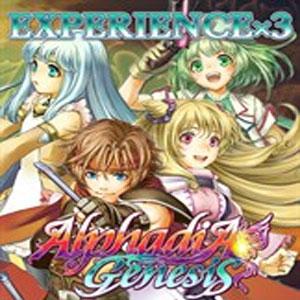 Alphadia Genesis Experience x3
