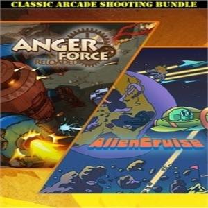 AngerForce and AlienCruise Arcade Shooting Bundle