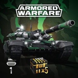 Armored Warfare T-72B3 Green Improved Pack