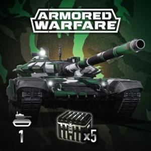 Armored Warfare T-72B3 Green Prime Pack