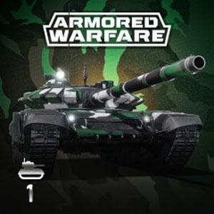 Armored Warfare T-72B3 Green Standard Pack