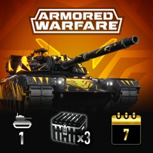 Armored Warfare XM1 Fox Improved Pack