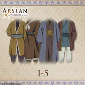 ARSLAN Original Costumes 1-5