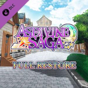 Asdivine Saga Full Restore