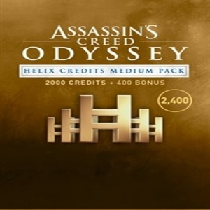 Buy Assassins Creed Odyssey Helix Credits Medium Pack PS4 Compare Prices