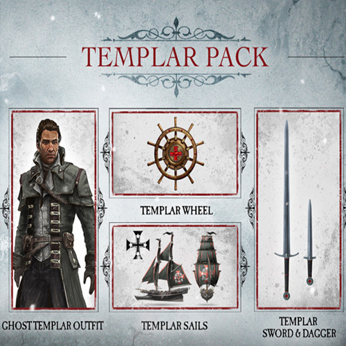 Buy Assassins Creed Rogue Master Templar Pack PS3 Game Code Compare Prices