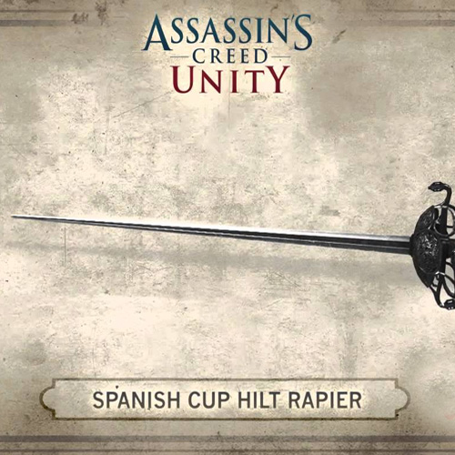 Assassin's Creed Unity Spanish Hilt Rapier
