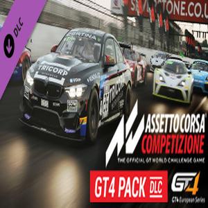 Buy Assetto Corsa Competizione GT4 Pack CD Key Compare Prices