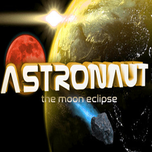 Astronaut The Moon Eclipse