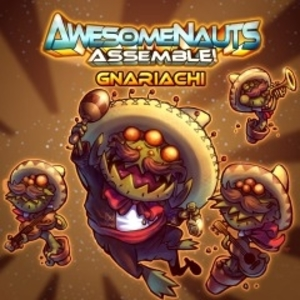 Buy Awesomenauts Assemble Gnariachi Skin PS4 Compare Prices