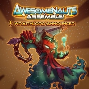 Awesomenauts Assemble Wraithlord Scoop Announcer