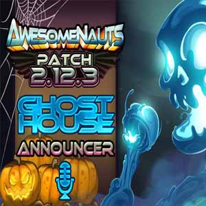 Awesomenauts Ghosthouse Announcer