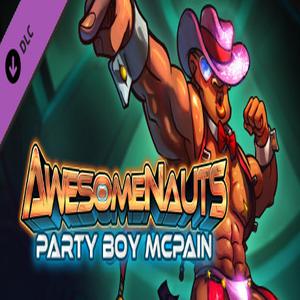 Awesomenauts Party Boy McPain Skin
