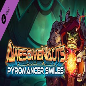 Awesomenauts Pyromancer Smiles Skin