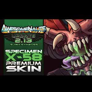 Buy Awesomenauts Specimen X-58 Skin CD Key Compare Prices