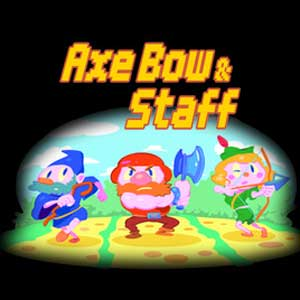 Axe, Bow and Staff