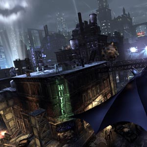 Batman Arkham Knight Xbox One City