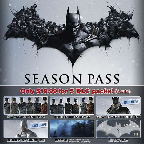 Buy Batman Arkham Origins Season Pass CD KEY Compare Prices