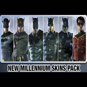Batman Arkham Origins New Millennium Skins Pack