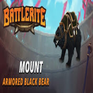 Battlerite Armored Black Bear Mount