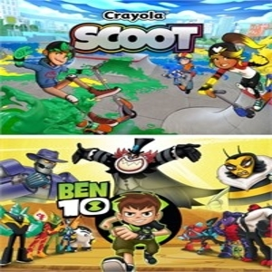 Ben 10 and Crayola Scoot