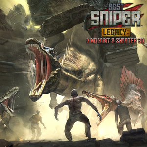 Best Sniper Legacy Dino Hunt & Shooter 3D