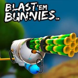 Blast Em Bunnies Watermelon Machine Gun Full Upgrades