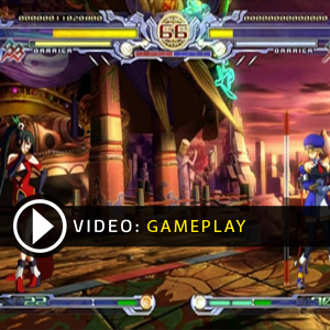 BlazBlue Calamity Trigger Gameplay Video