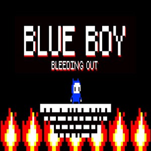 Blue Boy Bleeding Out