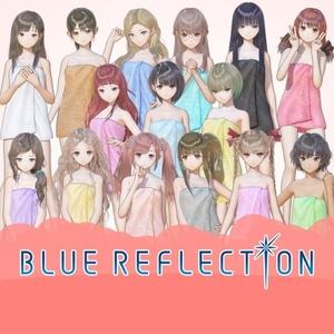 BLUE REFLECTION Bath Towels Complete Set