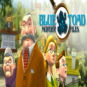 Blue Toad Murder Files The Mysteries of Little Riddle