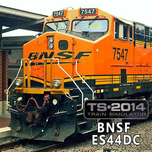 Train Simulator BNSF ES44DC