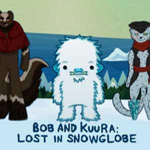 Bob and Kuura Lost in Snowglobe