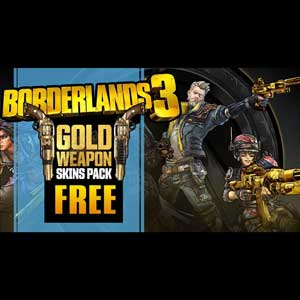 Buy BORDERLANDS 3 GOLD WEAPON SKINS PACK CD Key Compare Prices