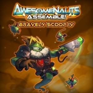 Bravely Scoop 4 Awesomenauts Assemble Skin