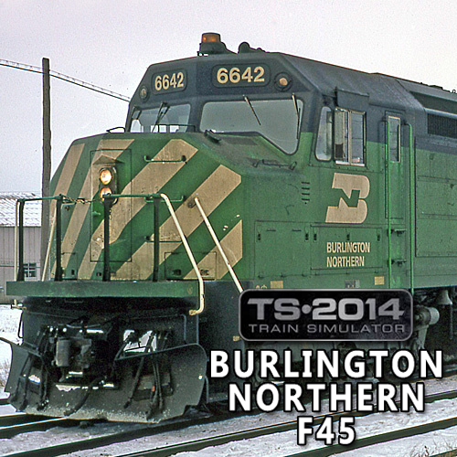 Train Simulator Burlington Northern F45