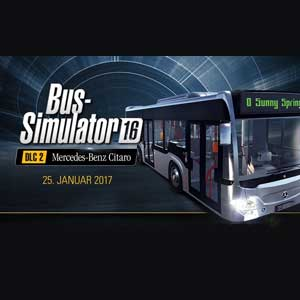 Buy Bus Simulator 16 Mercedes-Benz-Citaro CD Key Compare Prices